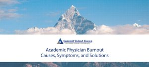 Academic Physician Burnout causes