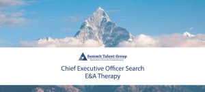 Summit Talent Group executive search firm E&A Therapy