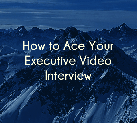 How to conduct a video interview for a c-suite job
