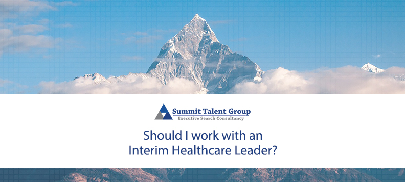 Interim healthcare leadership recruiters