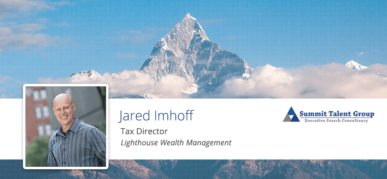 Jared Imhoff Tax Director Executive Search