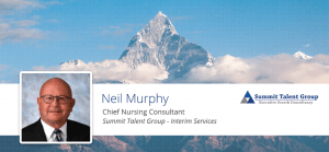 Chief Nursing Consultant Interim Services Summit Talent group