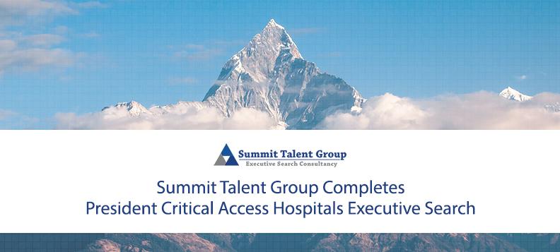 President Critical Access HospitalsExecutive Search Firm
