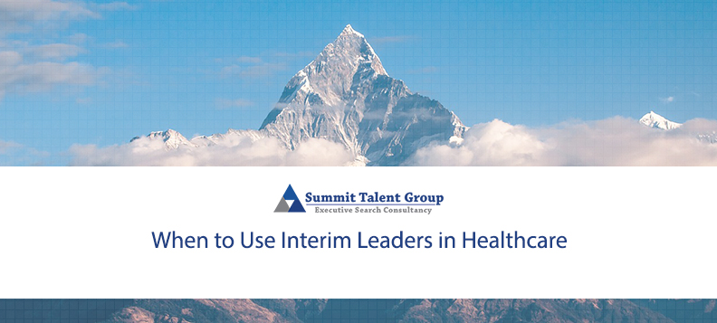 Using interim leaderships ensures leadership continuity