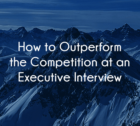 How to outperform the competition in a healthcare executive interview