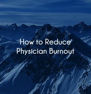 physician burnout resources