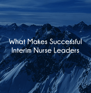 interim nurse leadership agencies