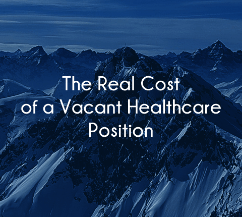 cost of healthcare vacancy